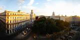 Buildings in a City  Parque Central  Old Havana  Havana  Cuba