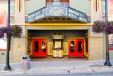 Facade of the Egyptian Theater  Main Street  Park City  Utah  USA