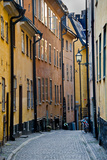 Buildings in Old Town  Gamla Stan  Stockholm  Sweden