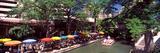 Sidewalk Cafe at the Riverside  San Antonio River Walk  River San Antonio  San Antonio  Texas  USA