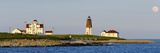 Lighthouse on the Coast  Point Judith Lighthouse  Narragansett Bay  Washington County