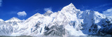 Mts Everest and Nuptse Sagamartha National Park Nepal