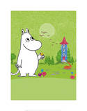 Moomintroll in Moomin Valley
