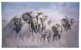 Dusty Elephants