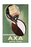 Advertisement for 'Axa' Margarine from 'L'Art Menager' Magazine 1933