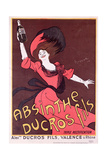 Advertisement for 'Absinthe Ducros Fils'  1901