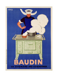 Poster Advertising 'Baudin' Stoves