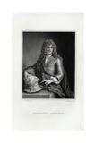 Engraving Print of Grinling Gibbons