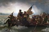 Washington Crossing the Delaware by Emanuel Leutze Giclée par Emanuel Leutze