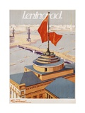 Leningrad Travel Poster