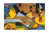 Still Life with a Guitar Giclée par Juan Gris