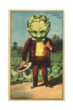 1st Premium Cabbage Head Trade Card Giclée