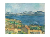 The Bay of Marseilles, Seen from L'Estaque Giclée par Paul Cézanne