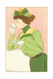 Spring Fashion Postcard