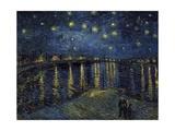 La Nuit Etoilée (Starry Night) Giclée par Vincent Van Gogh