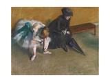 Délicieuse attente Giclée par Edgar Degas