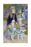 Mother and Children (La Promenade) Giclée par Pierre-Auguste Renoir