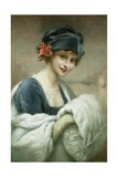 Portrait of a Woman by Francois Martin-Kavel