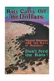 Rats Carry Off the Dollars