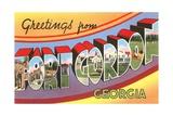 Greetings from Fort Gordon  Georgia