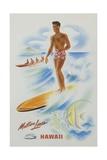 Matson Lines Hawaii Poster