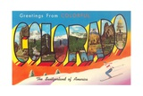 Greetings from Colorful Colorado  the Switzerland of America