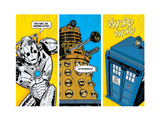 Doctor Who - Comic Sections