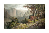 Yosemite Valley after Andrew W Melrose