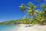 Tropical Beach  Drawaqa Island  Yasawa Island Group  Fiji  South Pacific Islands  Pacific
