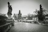 Charles Bridge  (Karluv Most)  Prague  Czech Republic
