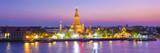Temple of Dawn (Wat Arun) and Bangkok  Thailand