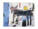 Part Wolf Giclée par Jean-Michel Basquiat