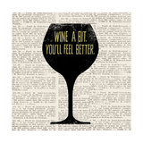 Wine Lino Print 1