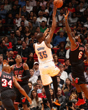 Jan 29  2014  Oklahoma City Thunder vs Miami Heat - Kevin Durant  LeBron James