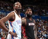 Feb 20  2014  Miami Heat vs Oklahoma City Thunder - LeBron James  Kevin Durant