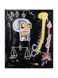 Untitled (Black Skull) Giclée par Jean-Michel Basquiat