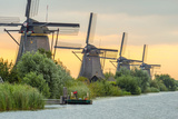 Netherlands  South Holland  Kinderdijk (Unesco World Heritage Site)