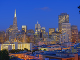 Downtown and Transamerica Building  San Francisco  California  Usa
