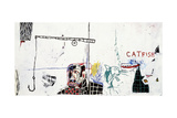 Revised Undiscovered Genius of the Mississippi Delta Giclée par Jean-Michel Basquiat