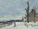 Snow at Veneux Nadon