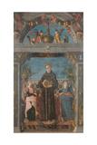 St Bernardine of Siena and Angels