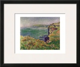 The Cliff at Varengeville  c1882