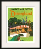 United Airlines Disneyland  Anaheim  California  1960s