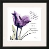 My Love  Purple Tulip