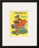 British Overseas Airways Corporation: Jamaica - Jet BOAC  c1950s