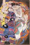 Vierge Tableau sur toile par Gustav Klimt