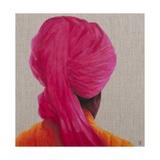 Pink Turban  Orange Jacket  2014