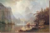 Dans les montagnes Tableau sur toile par Albert Bierstadt