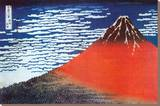 Le mont Fuji Tableau sur toile par Katsushika Hokusai