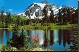 Mont Shuksan Tableau sur toile